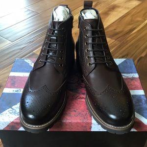 English Laundry KALI Leather Boots Sz 10 Men's NWB